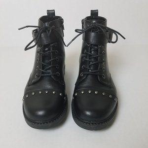 Mix No. 6 Viva Black Combat Boots